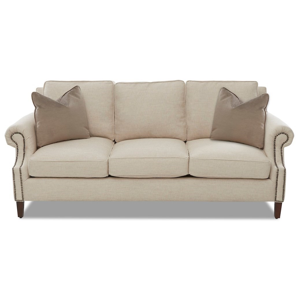 Theron Sofa by Klaussner at Northeast Factory Direct