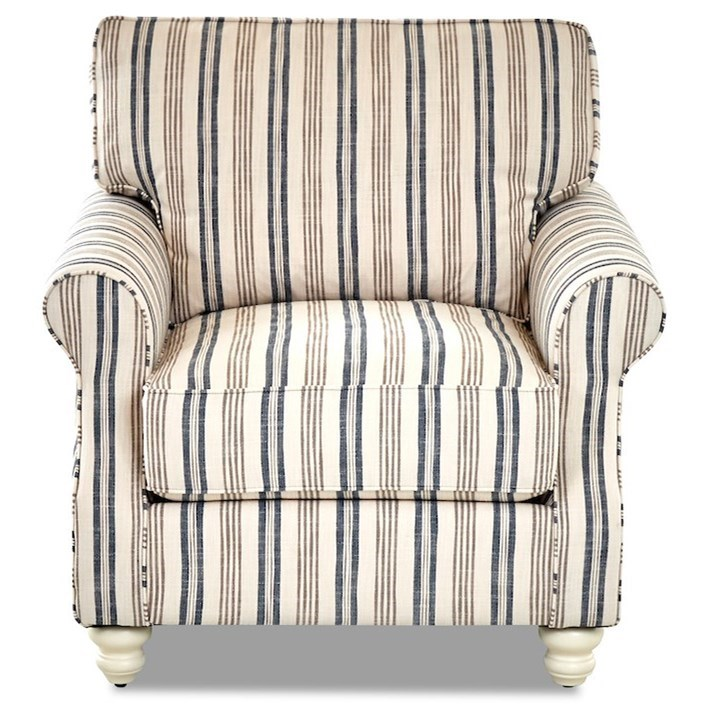 Tifton Chair by Klaussner at Johnny Janosik