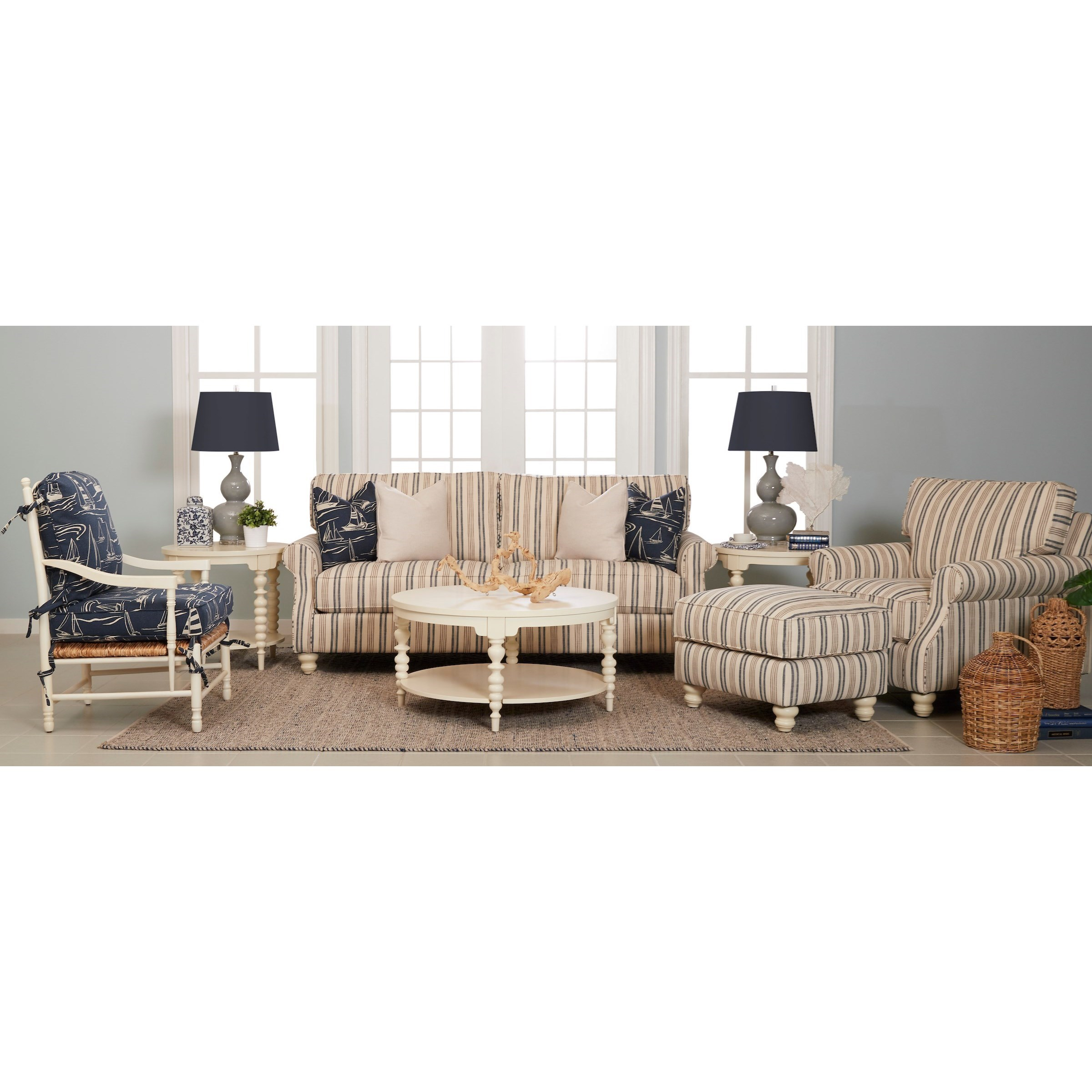 Tifton Living Room Group by Klaussner at Johnny Janosik