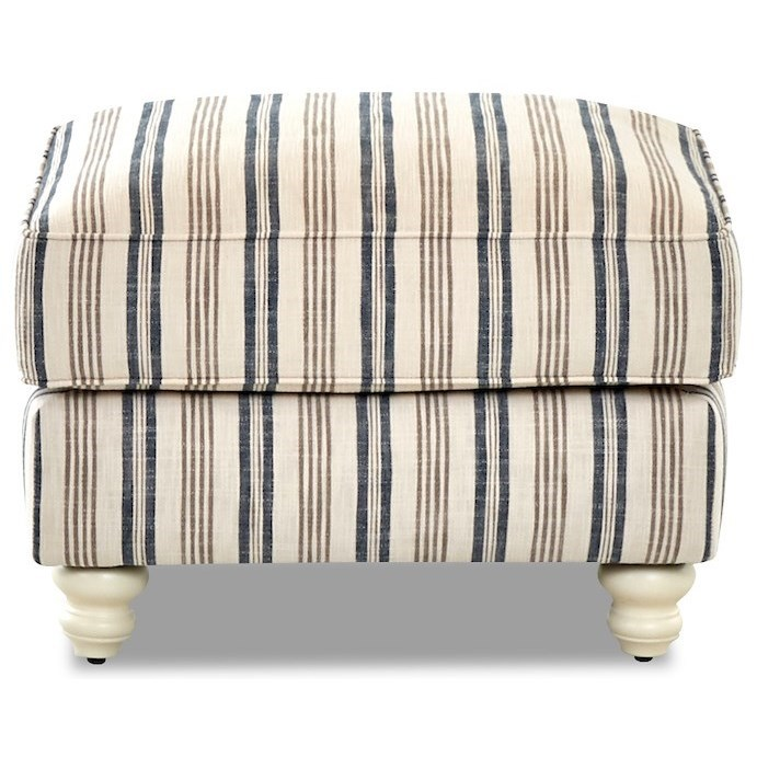 Tifton Ottoman by Klaussner at Northeast Factory Direct