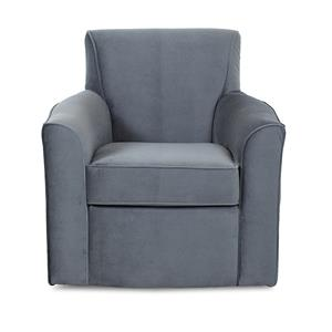 Klaussner Titus  Contemporary Swivel Chair