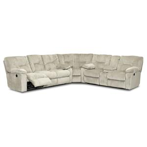 Klaussner Toronto Reclining Sectional