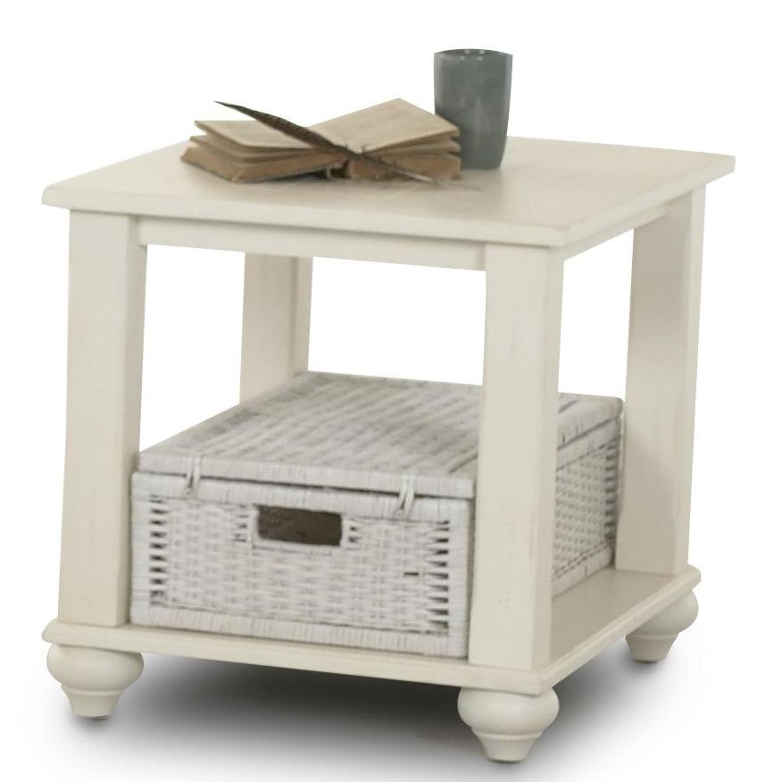 Treasures End Table by Klaussner International at Northeast Factory Direct
