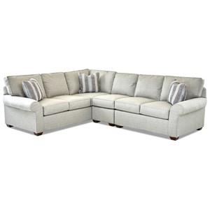 3 Pc Sectional Sofa w/ RAF Loveseat