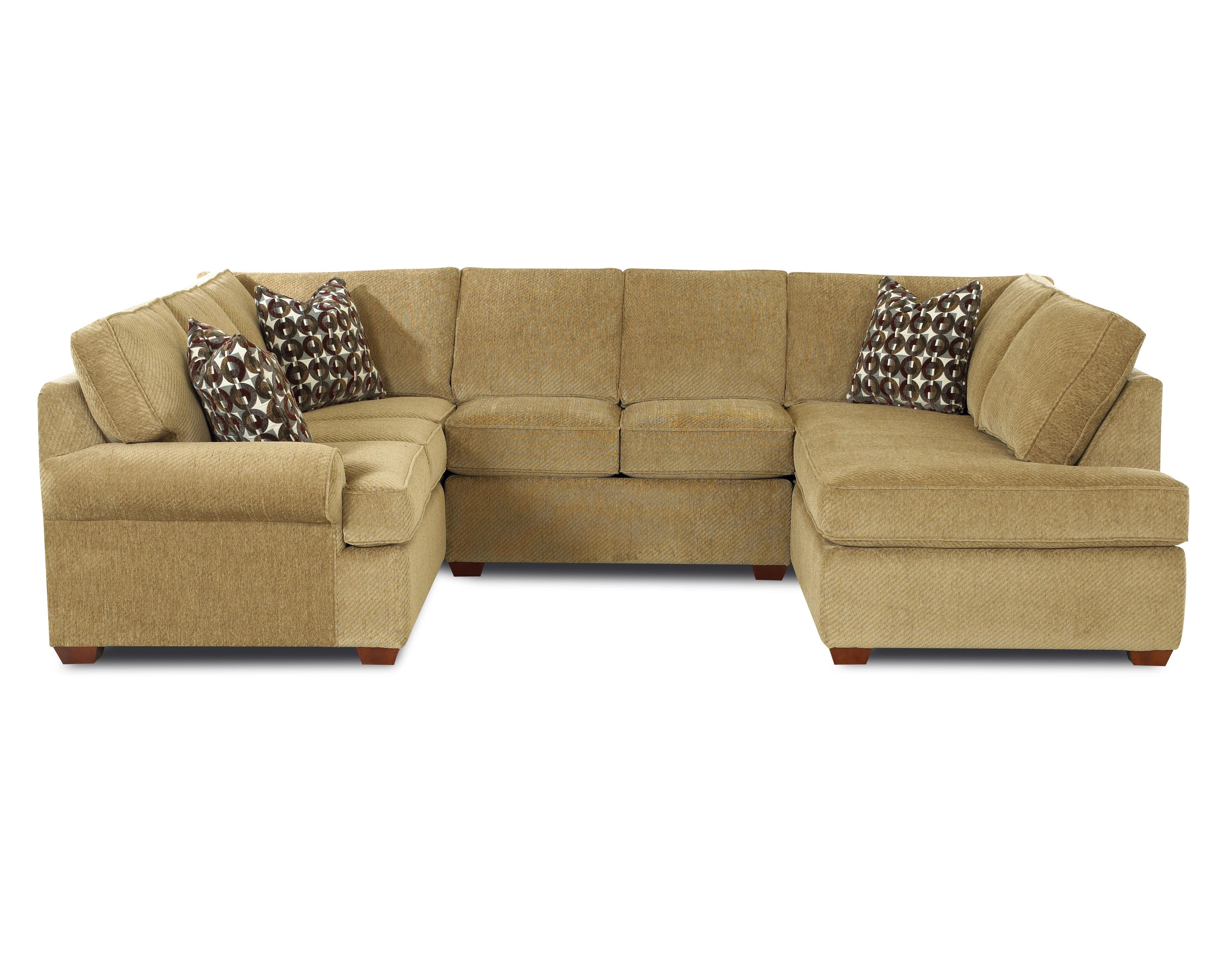 Troupe Sectional Sofa by Klaussner at Johnny Janosik