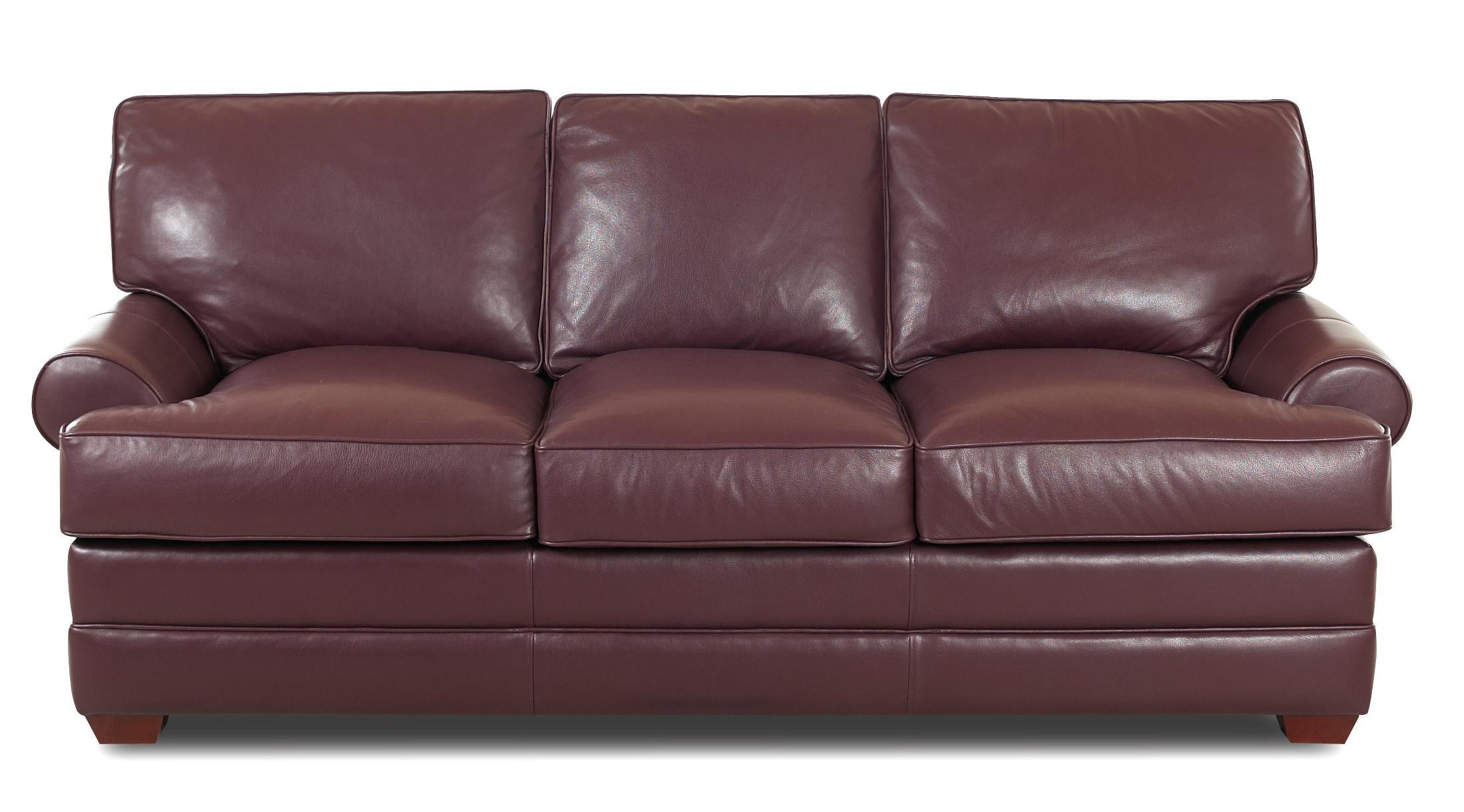 Troupe Sofa by Klaussner at Pilgrim Furniture City