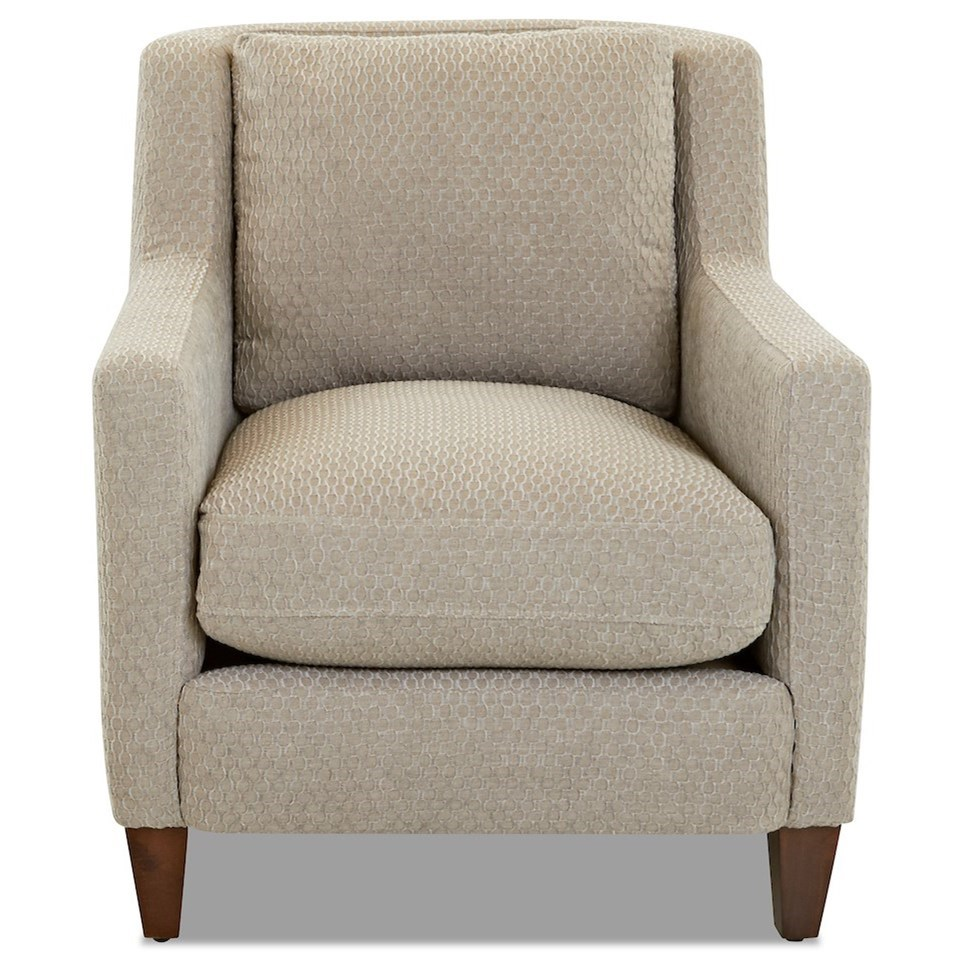 Valley Forge Accent Chair by Klaussner at Johnny Janosik
