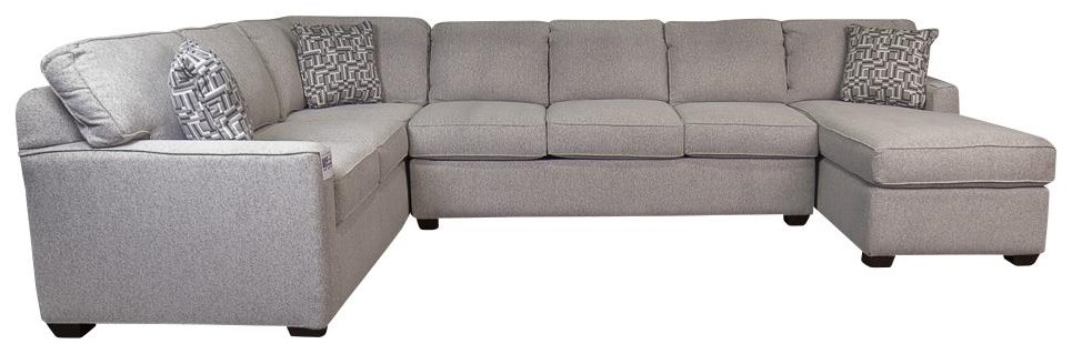 Vanessa Vanessa Sectional sofa by Klaussner at Morris Home