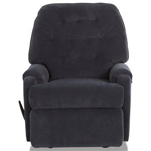 Reclining Chair with Tufted Back