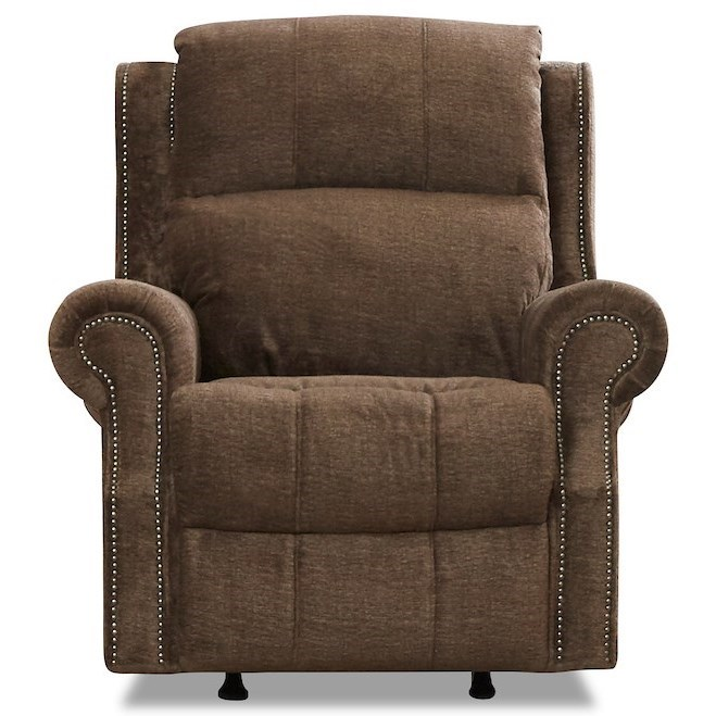 Vivio Reclining Chair by Klaussner at Johnny Janosik