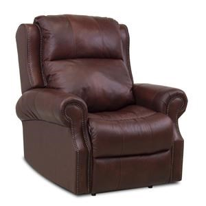 Traditional Power Rocking Reclining Chair with USB Port and Power Tilt Head & Lumbar