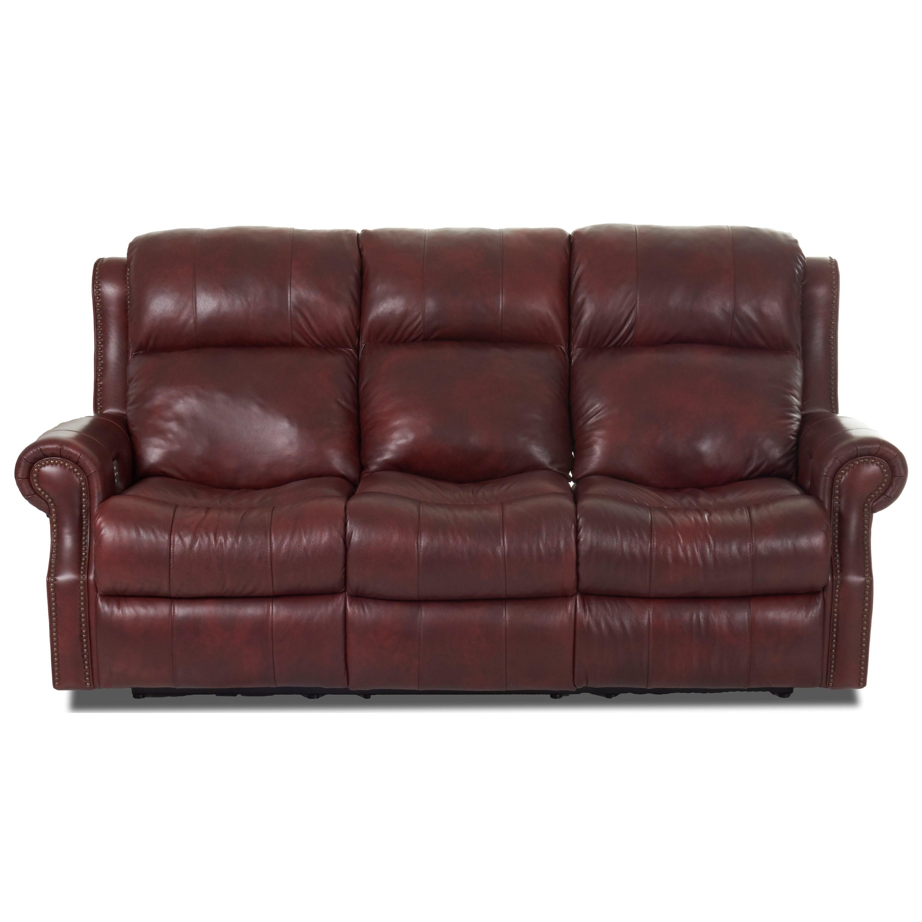 Vivio Reclining Sofa by Klaussner at Johnny Janosik