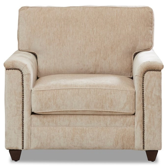Warrant Chair by Klaussner at Northeast Factory Direct