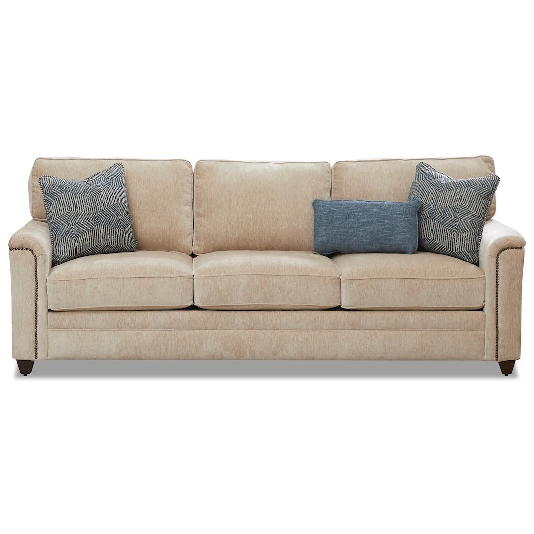 Warrant Sofa by Klaussner at Northeast Factory Direct