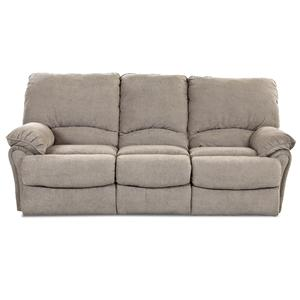 Klaussner Weatherstone Casual Reclining Sofa