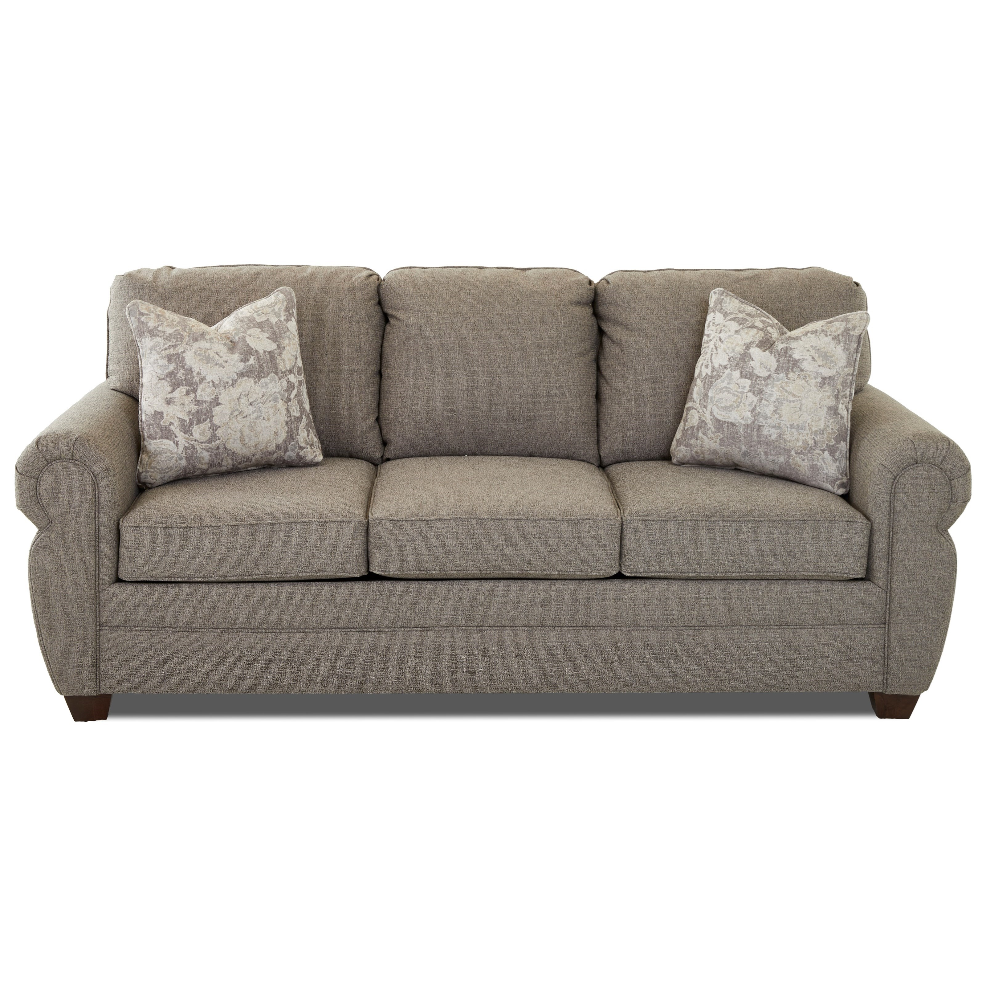 Westbrook Sleeper Sofa w/ Air Coil Mattress by Klaussner at Northeast Factory Direct