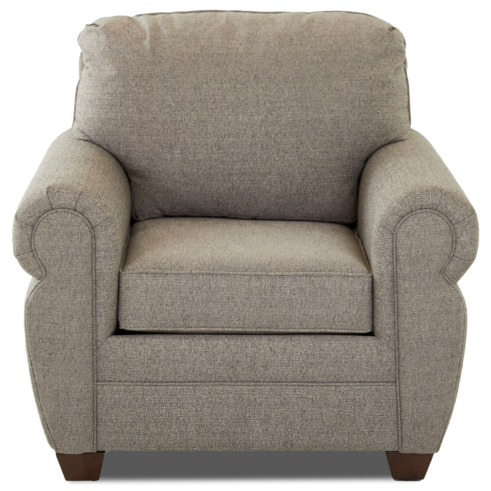 Westbrook Upholstered Chair by Klaussner at Johnny Janosik