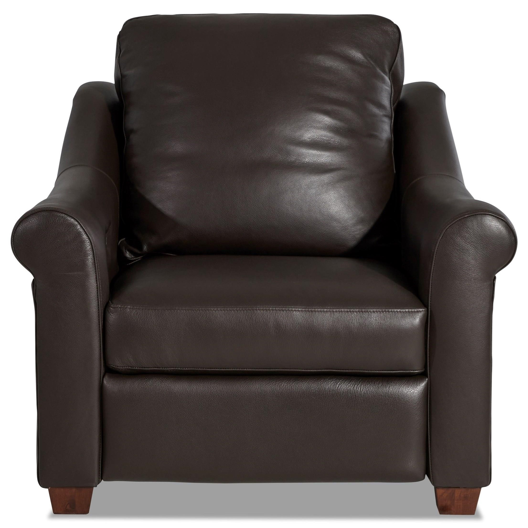 Whitfield Power Recliner by Klaussner at Pilgrim Furniture City