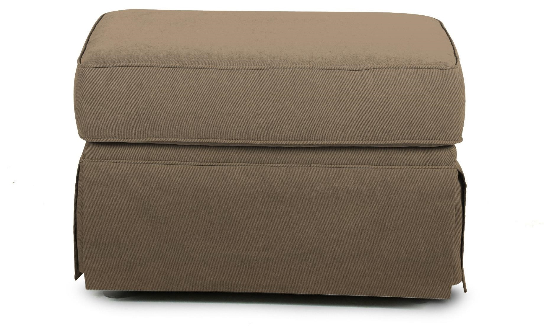 Woodwin Ottoman by Klaussner at Johnny Janosik