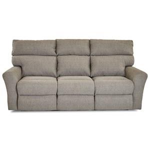Casual Reclining Sofa (2 Recliners)