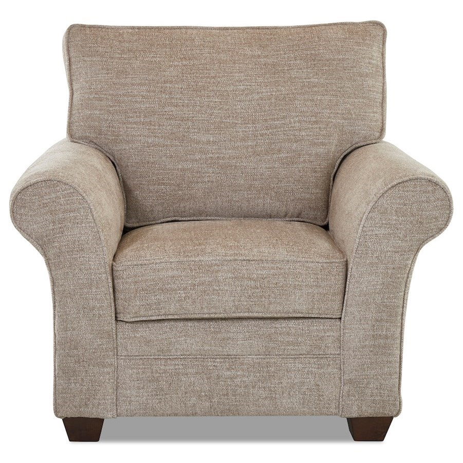 Zack Chair by Klaussner at Northeast Factory Direct