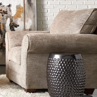 Zack Chair by Klaussner at Johnny Janosik