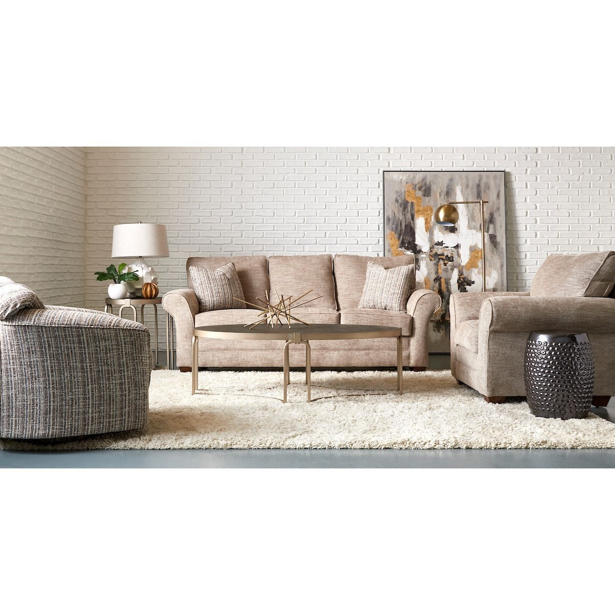 Zack Living Room Group by Klaussner at Godby Home Furnishings