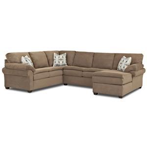 Klaussner Zanda Sectional Sofa