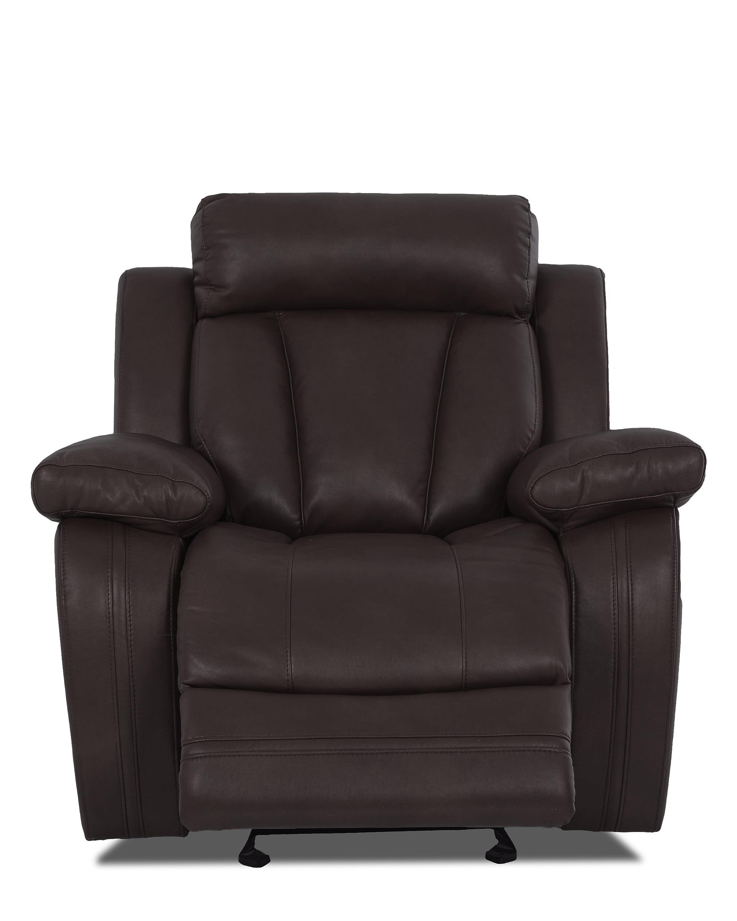 Atticus-US Gliding Recliner Chair by Klaussner International at Fine Home Furnishings
