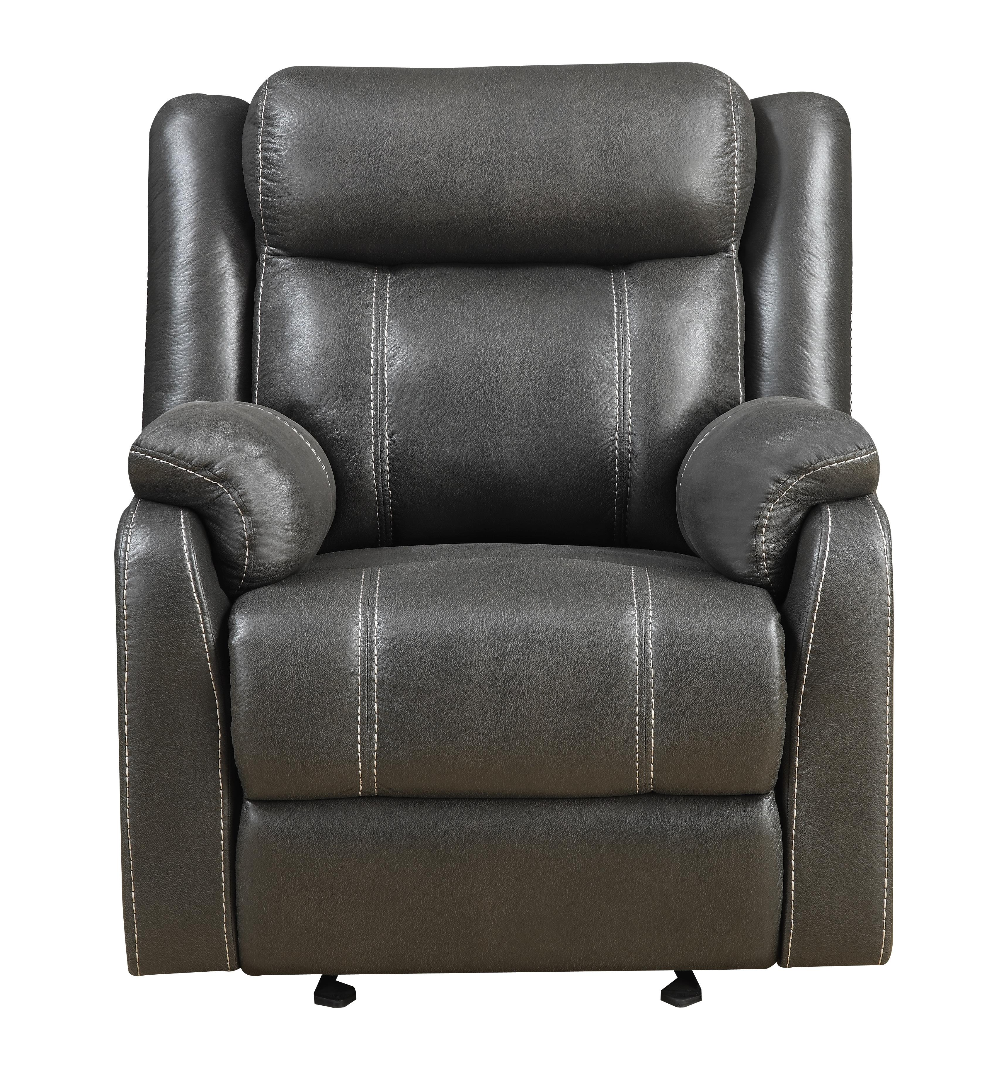 Domino-US Gliding Recliner Chair by Klaussner International at Rooms for Less