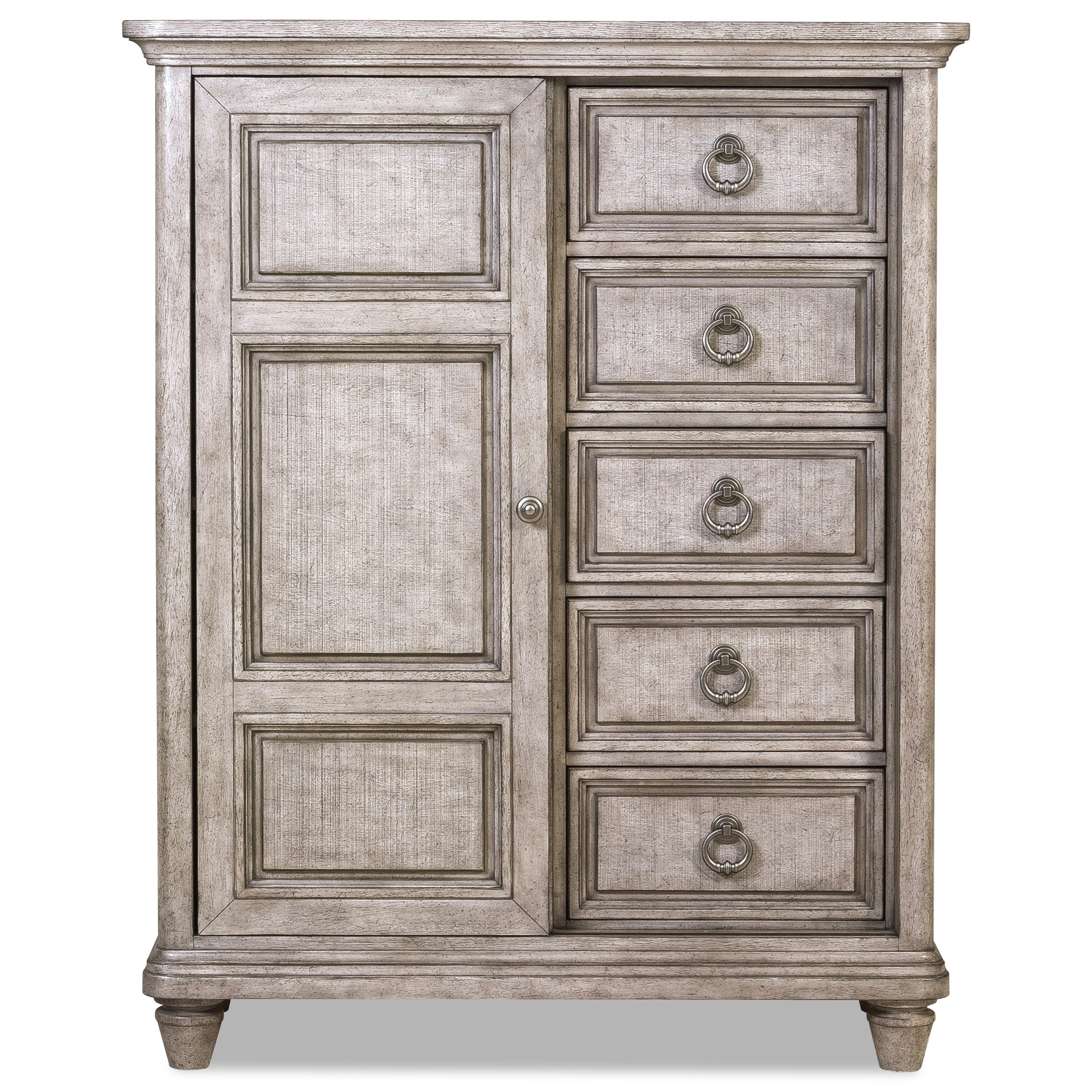 Blakeley Drawer Chest by Klaussner International at Powell's Furniture and Mattress