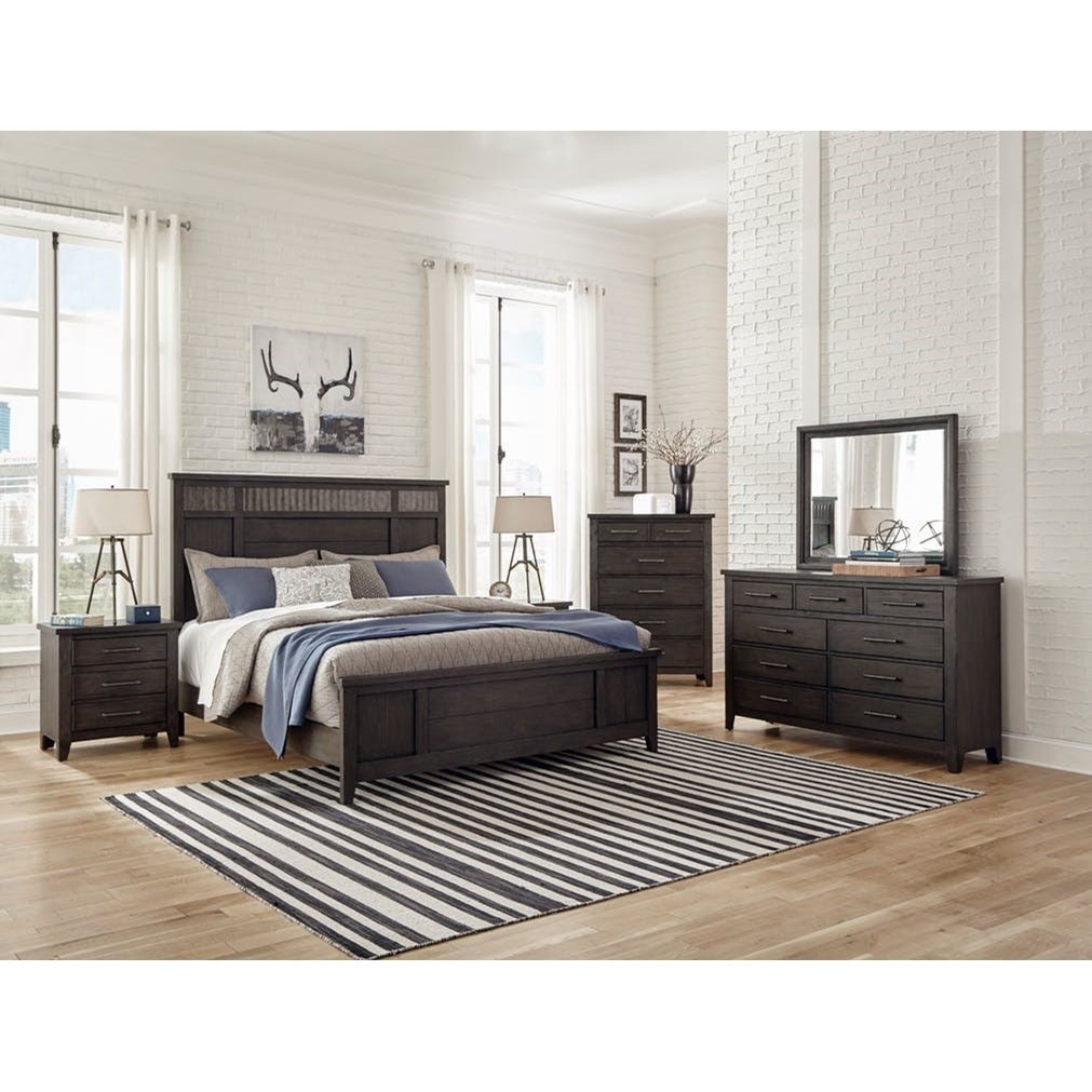 Burbank King Bedroom Group by Klaussner International at Northeast Factory Direct