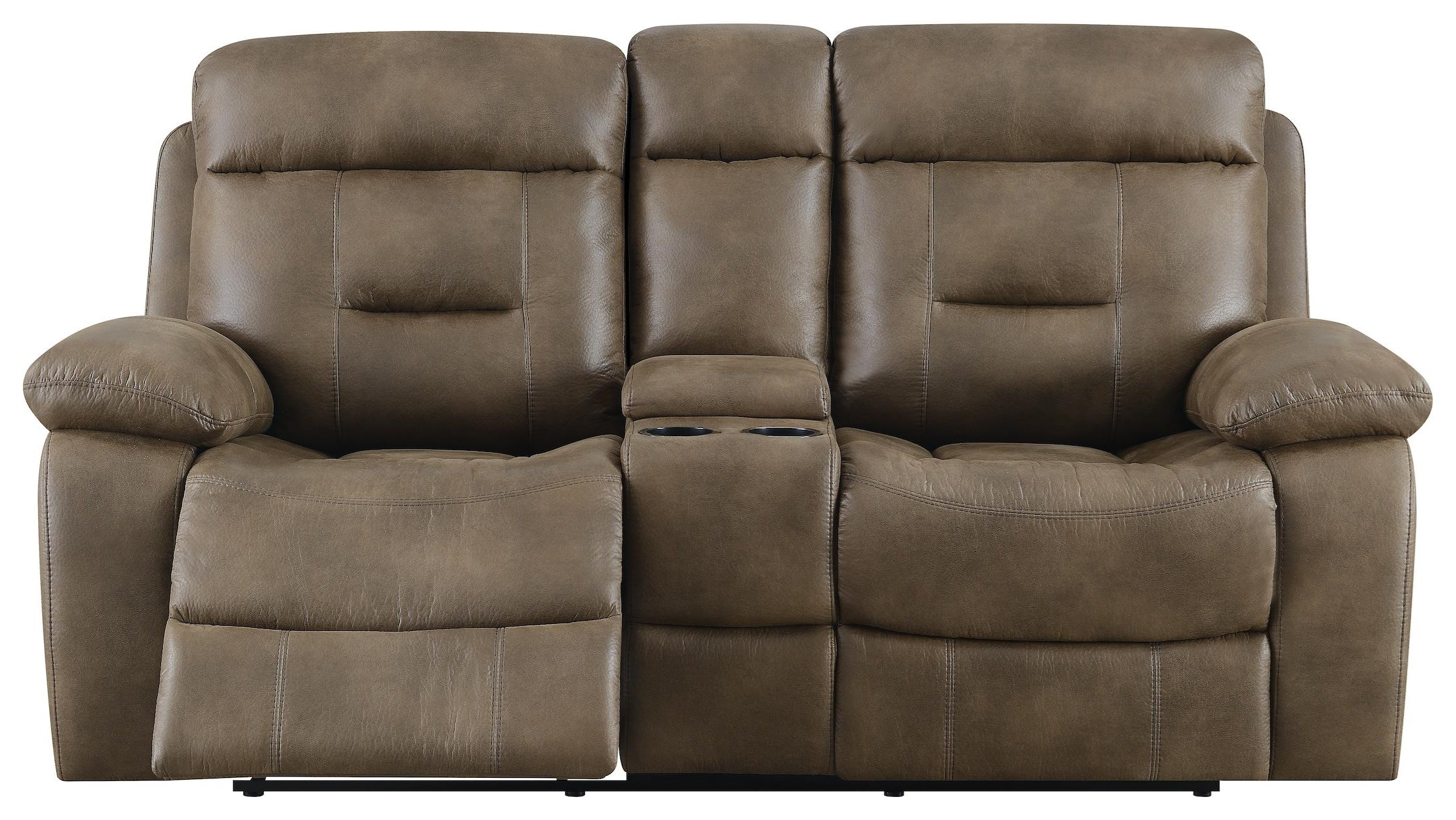 Cano Reclining Loveseat by Klaussner International at Beck's Furniture