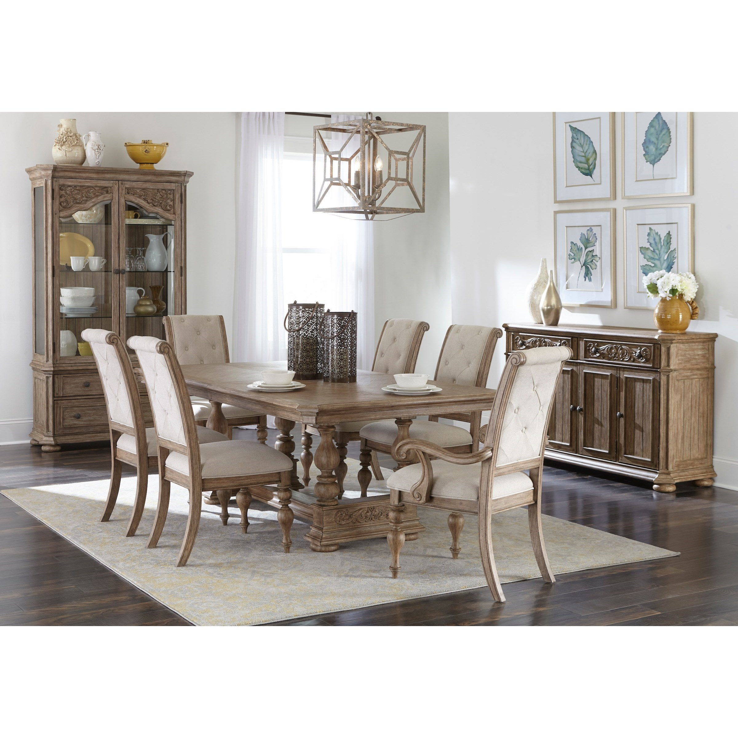 Cardoso Formal Dining Group by Klaussner International at Powell's Furniture and Mattress