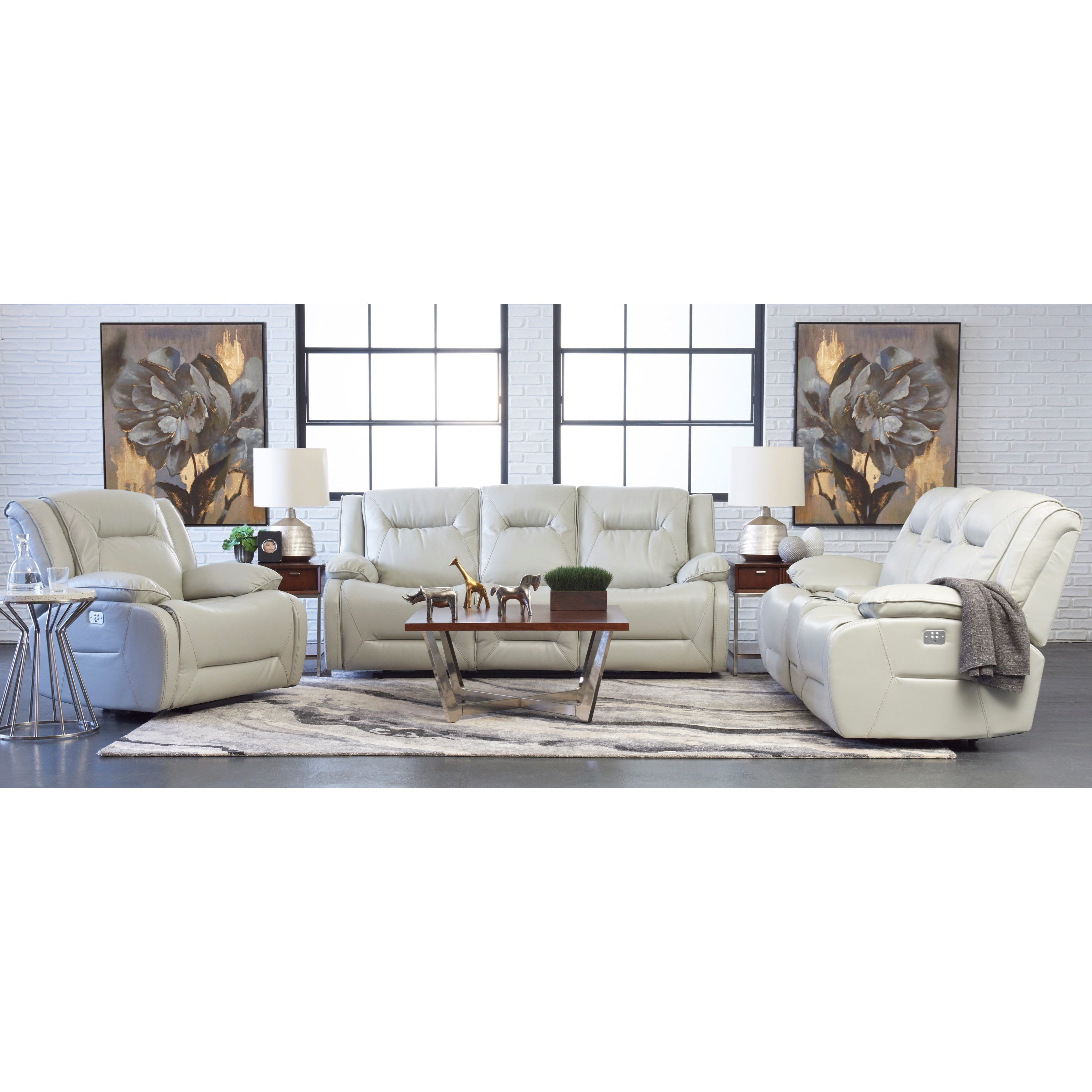 Dansby Reclining Living Room Group by Klaussner International at Northeast Factory Direct