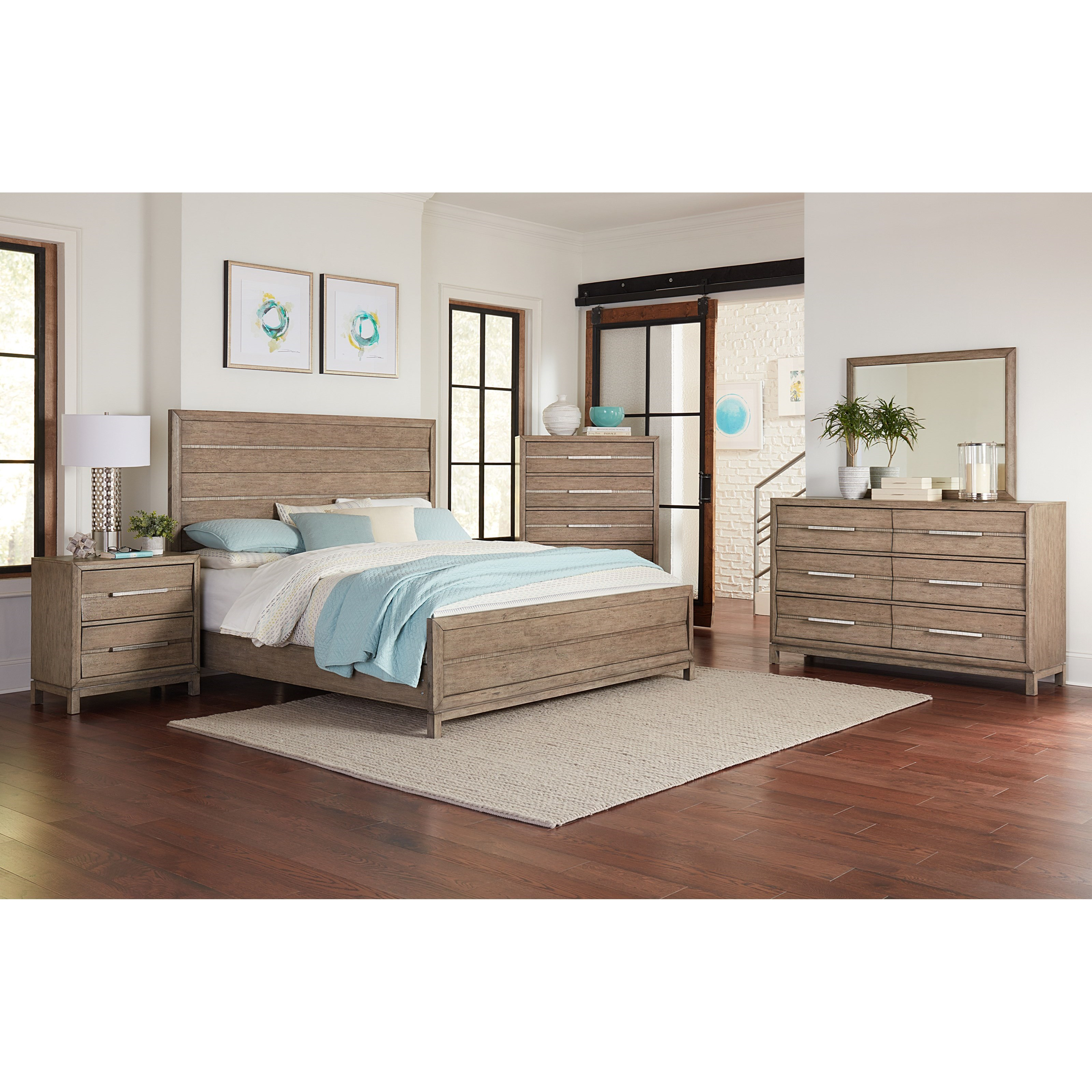 Elliot California King Bedroom Group by Klaussner International at Northeast Factory Direct