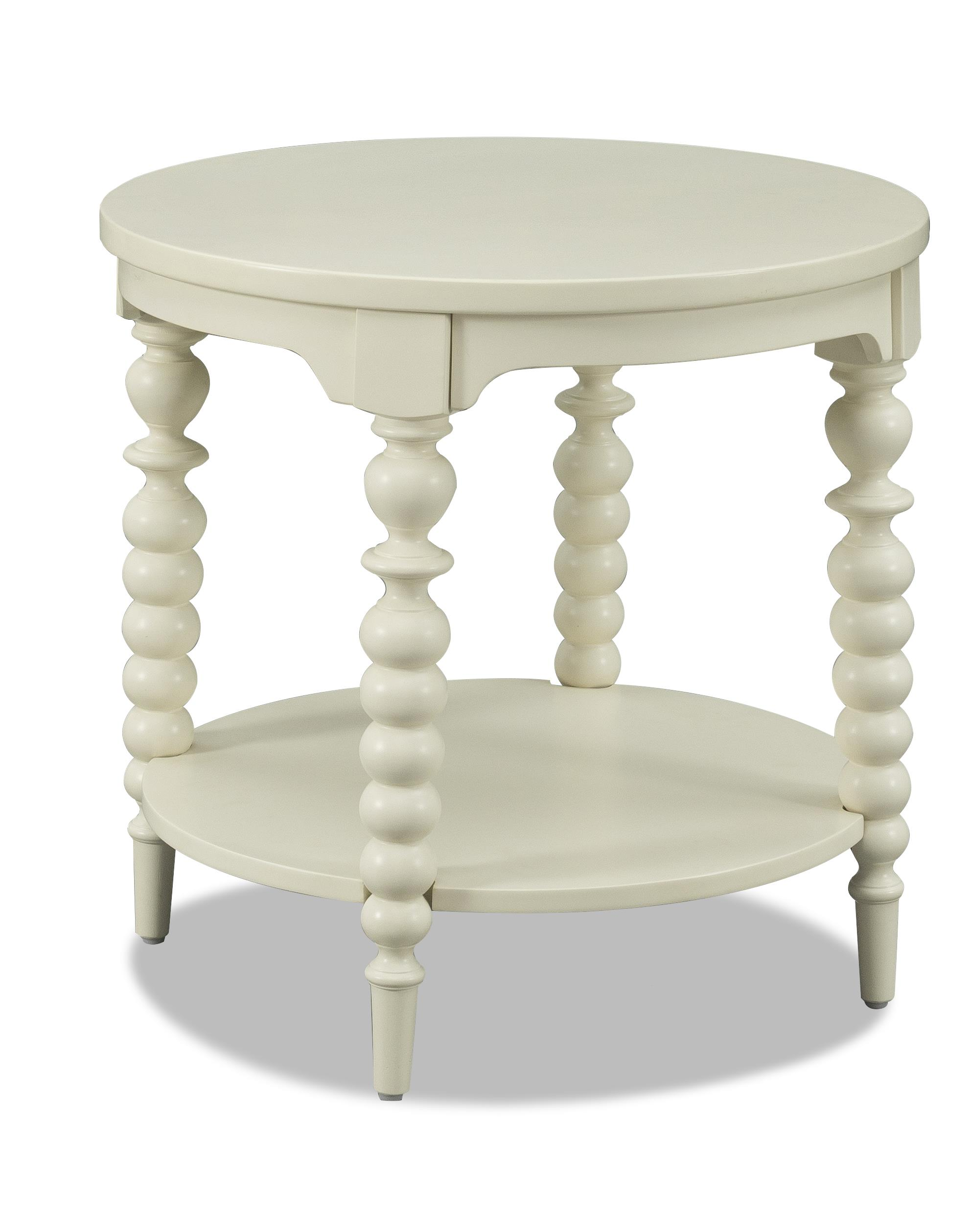 Emerson End Table by Klaussner International at Pilgrim Furniture City