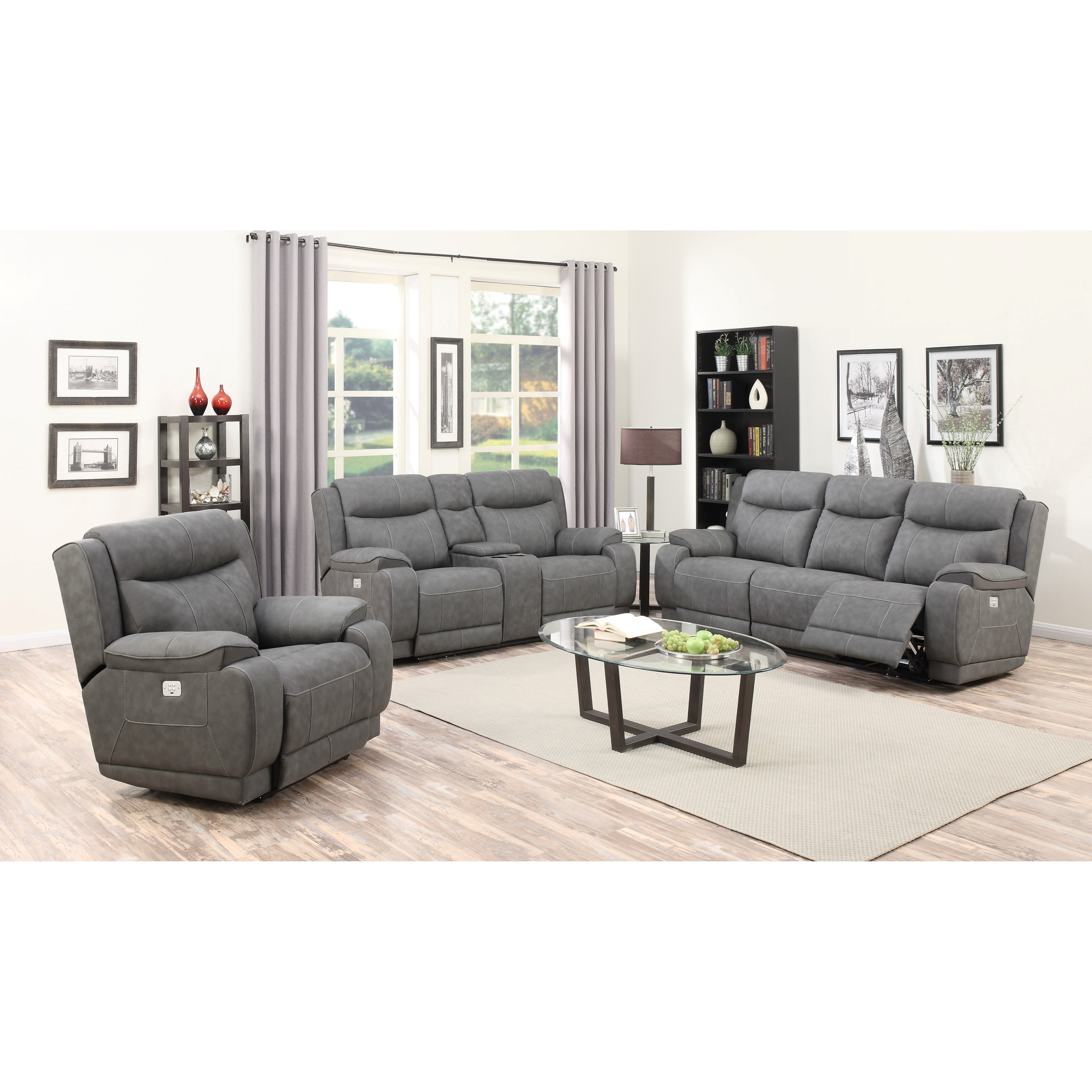 Humphrey-US Reclining Living Room Group by Klaussner International at Nassau Furniture and Mattress