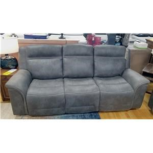 Power Reclining Sofa with Adjustable Power Headrest and Lumbar Supports