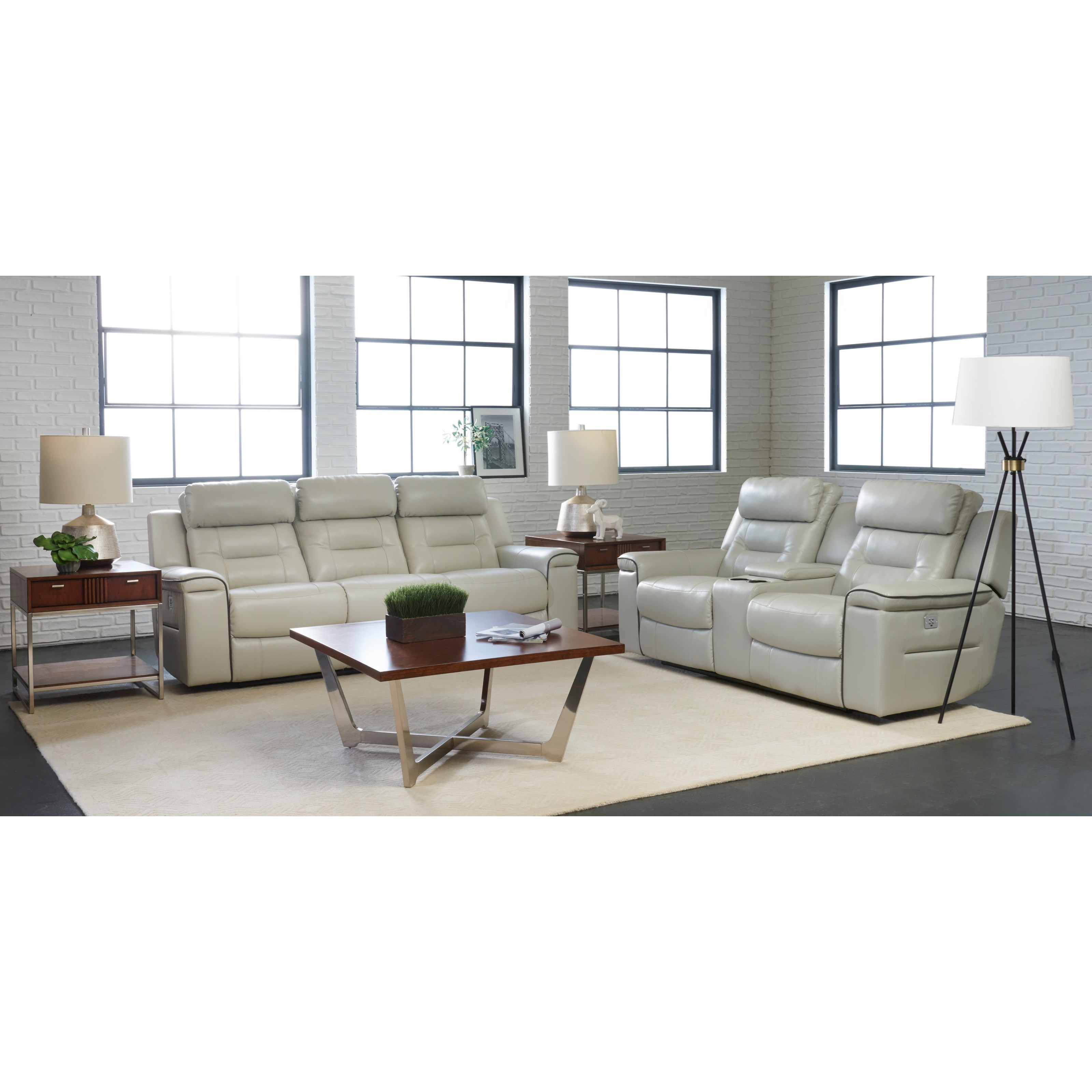 Islander Reclining Living Room Group by Klaussner International at Northeast Factory Direct