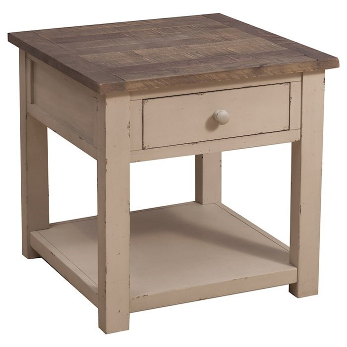 Kelson End Table by Klaussner International at Northeast Factory Direct