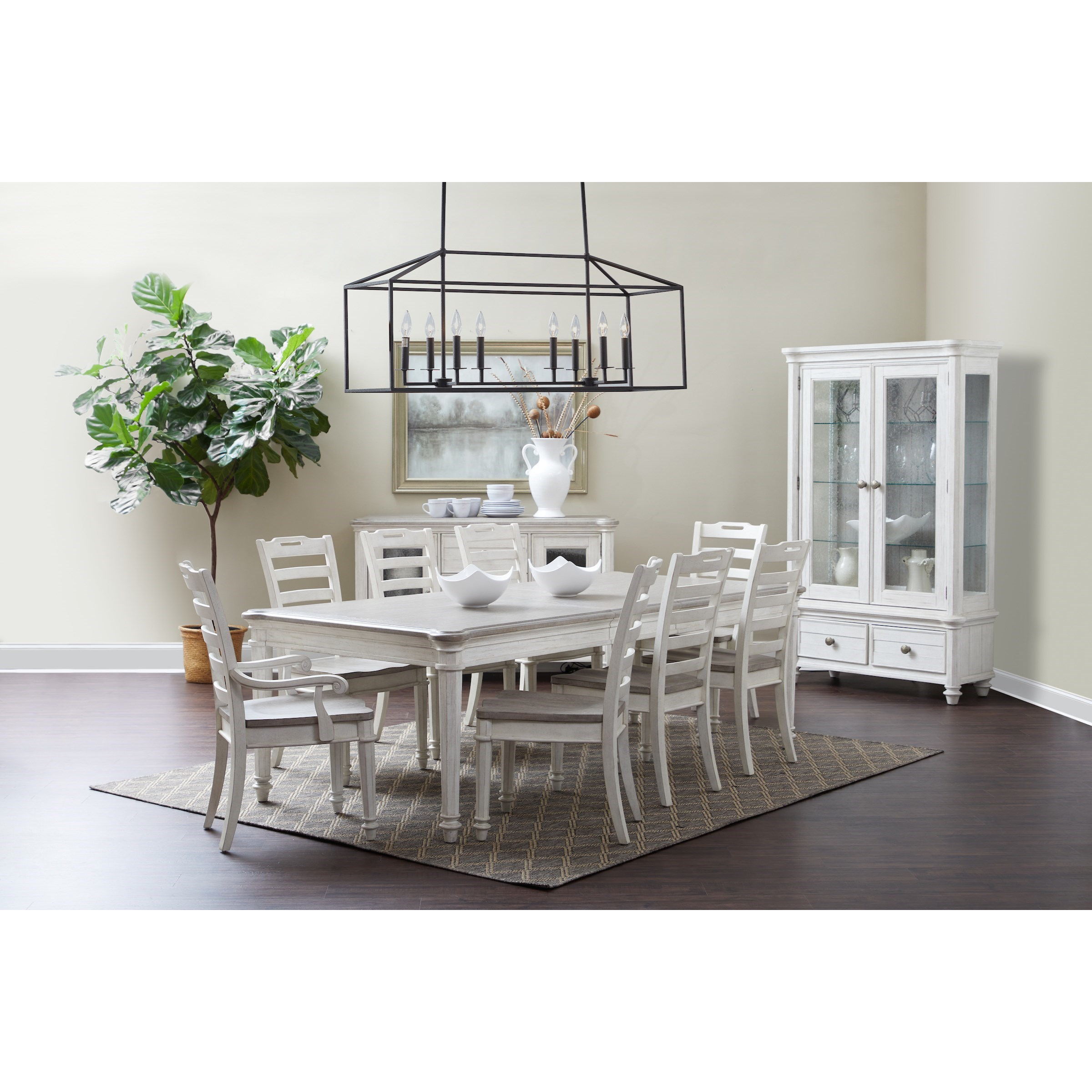 Maribelle Formal Dining Room Group by Klaussner International at Catalog Outlet