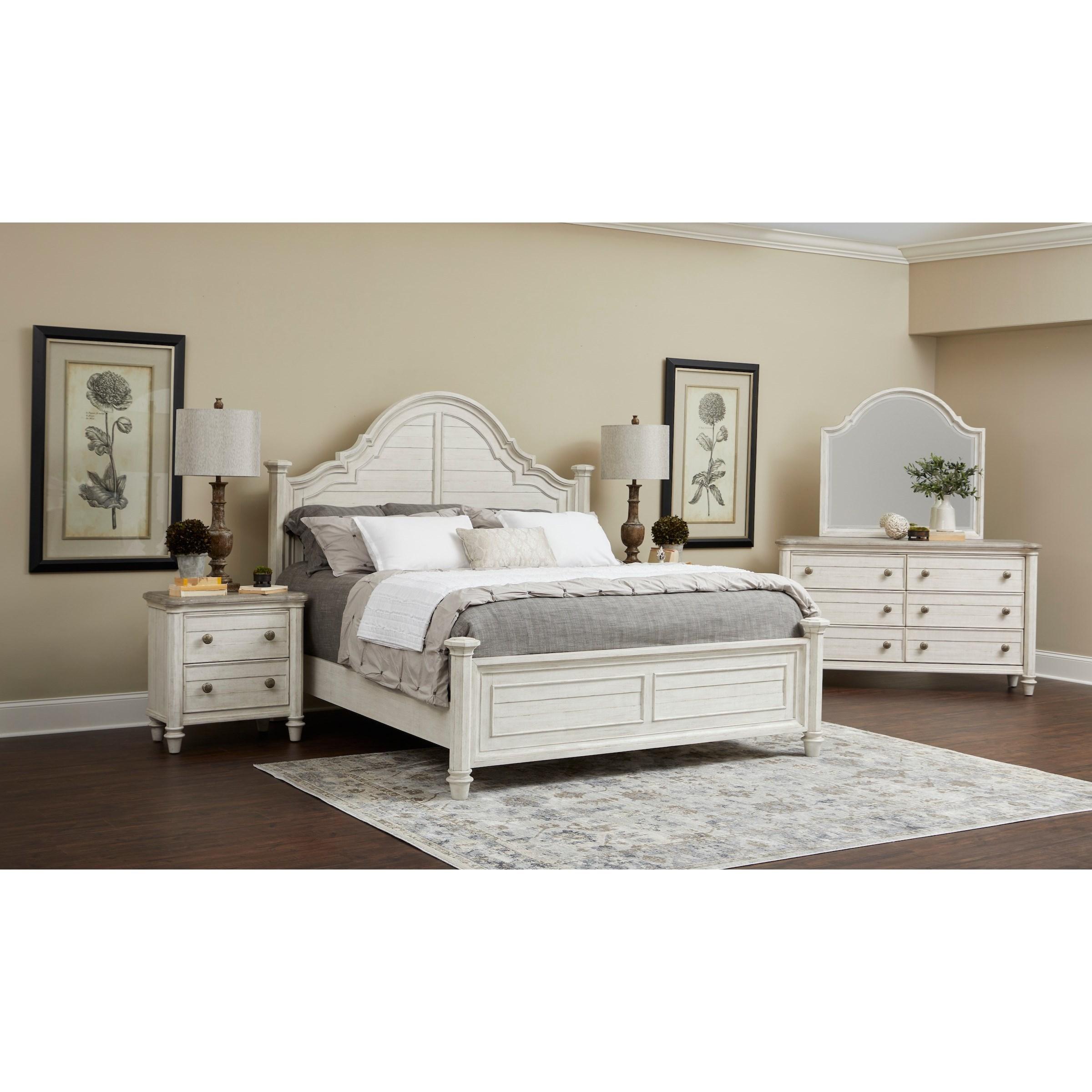 Maribelle Queen Bedroom Group by Klaussner International at Northeast Factory Direct