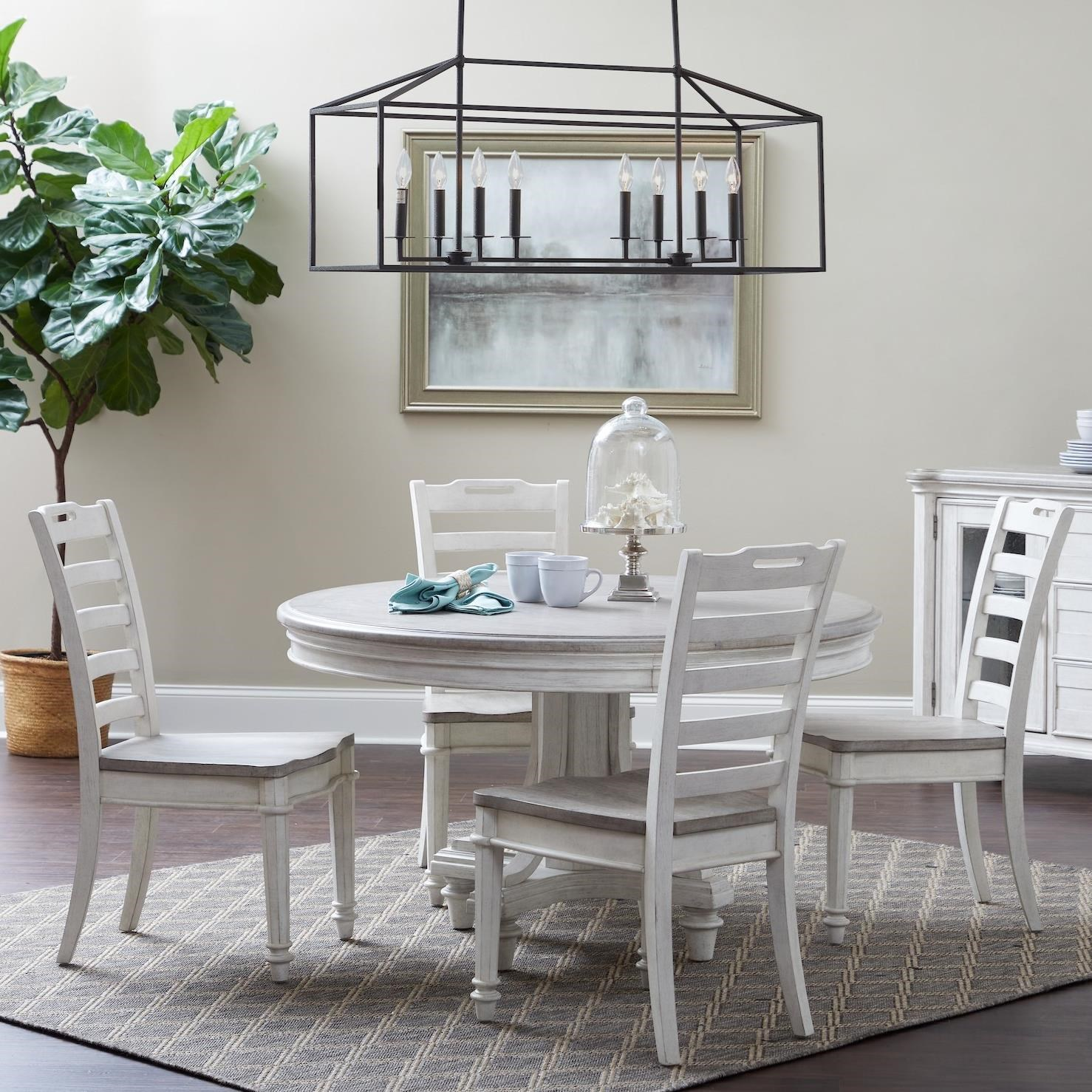 Maribelle 5-Piece Dining Set by Klaussner International at Northeast Factory Direct