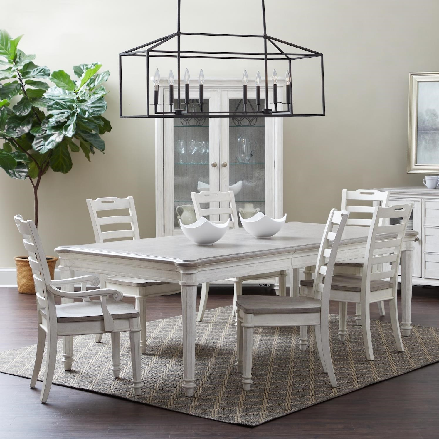 Maribelle 7-Piece Dining Set by Klaussner International at Northeast Factory Direct