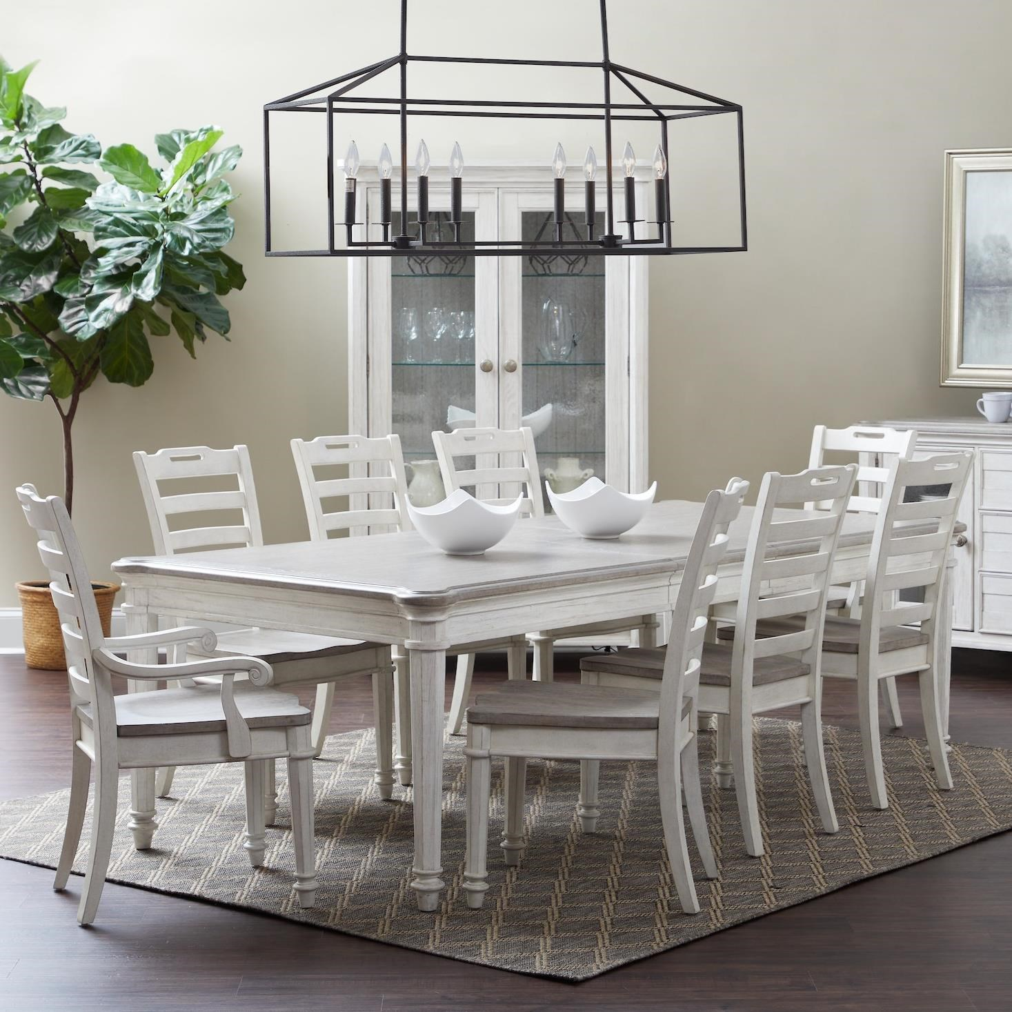 Maribelle 9-Piece Dining Set by Klaussner International at Northeast Factory Direct