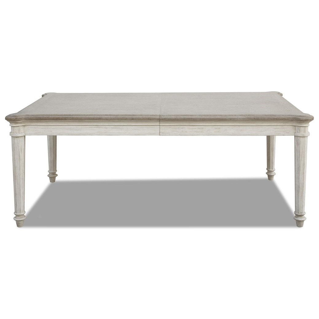Maribelle Leg Table by Klaussner International at Northeast Factory Direct