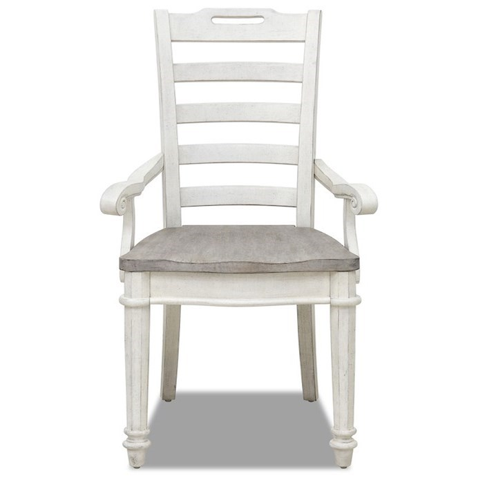 Maribelle Dining Arm Chair by Klaussner International at Northeast Factory Direct