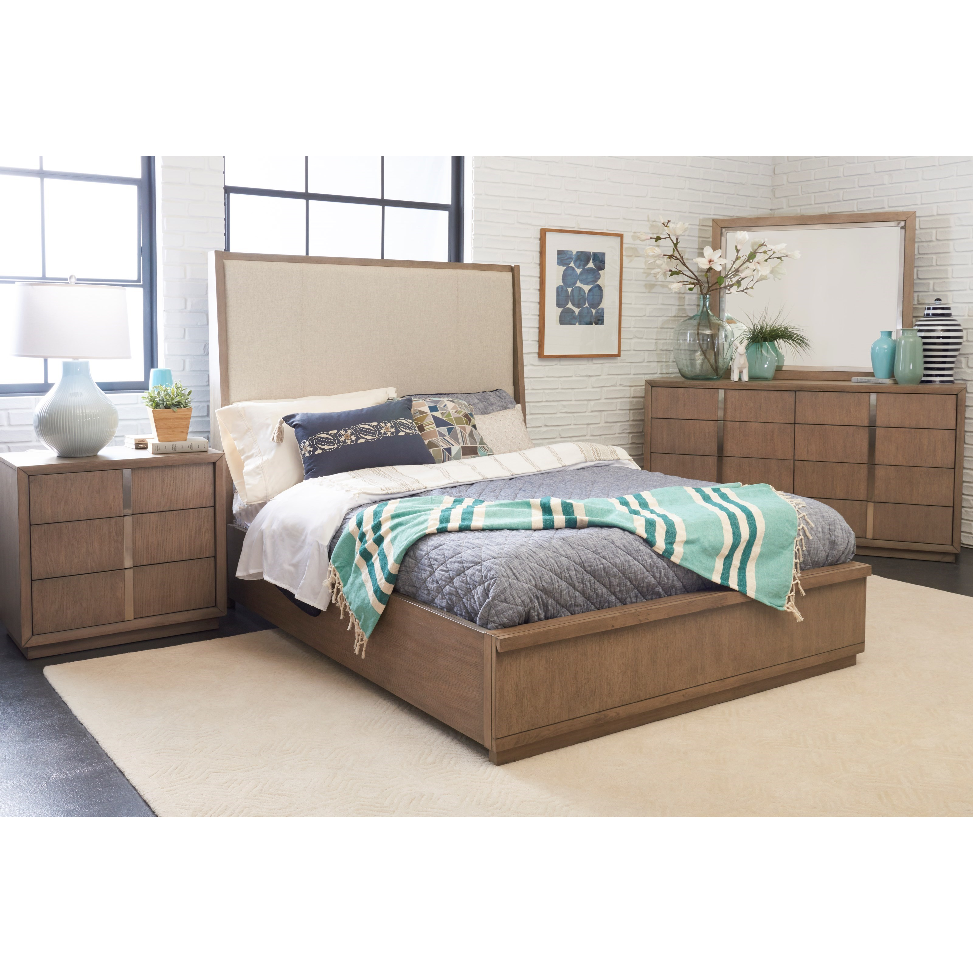 Melbourne CK Bedroom Group by Klaussner International at Pilgrim Furniture City