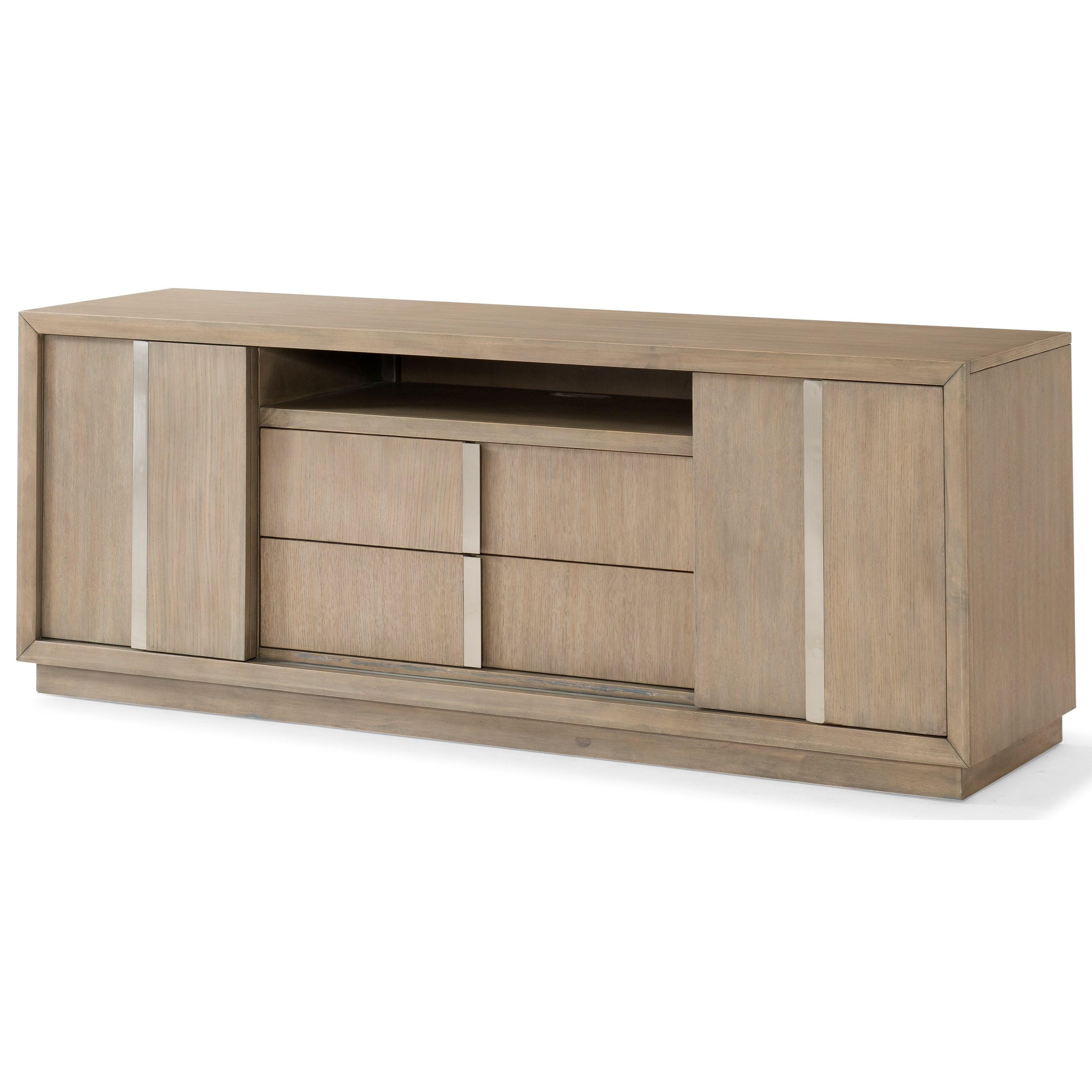 Melbourne TV Console by Klaussner International at HomeWorld Furniture